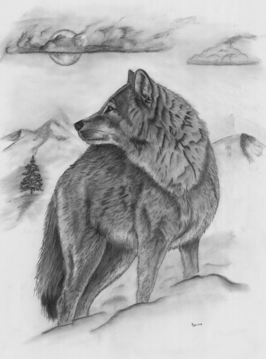 The Lone Wolf By Russ Smith