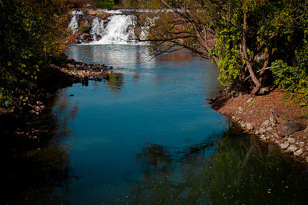 David Patterson - The Lower Falls at Ticonderoga New York