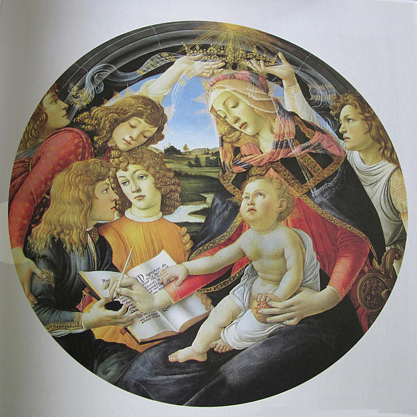 The Madonna Of The Magnificent Print by Carl Purcell