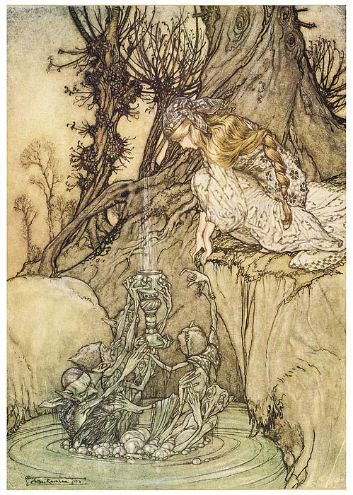 The Magic Cup Print by Arthur Rackman