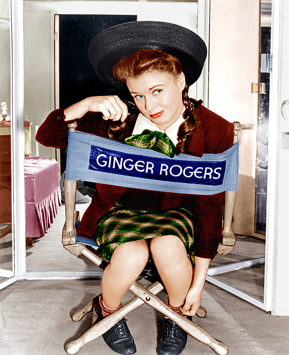 The Major And The Minor, Ginger Rogers Print by Everett