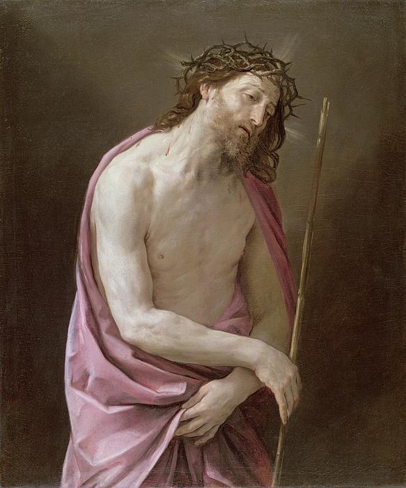 The Man Of Sorrows Print by Guido Reni