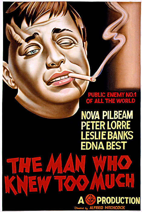 The Man Who Knew Too Much, Peter Lorre Print by Everett