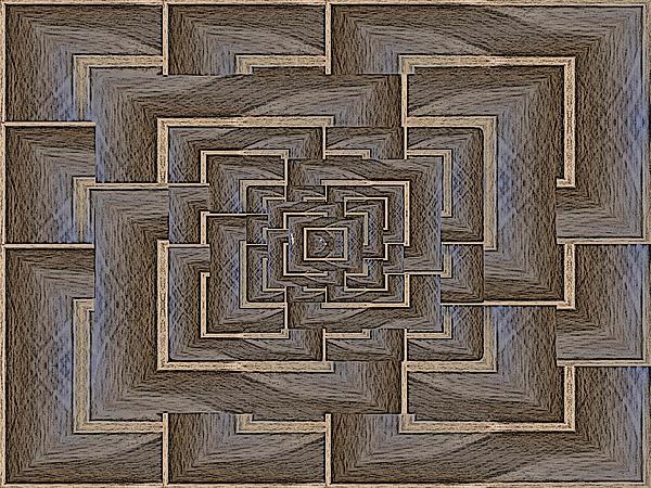 The Maze Within Print by Tim Allen