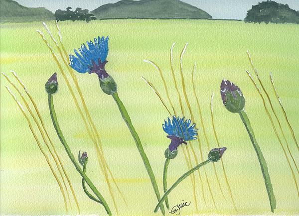 The Meadow Print by Eva Ason