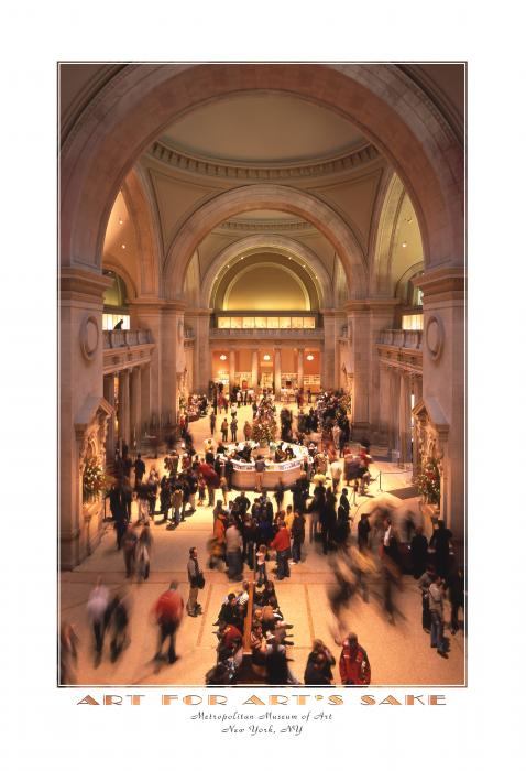 The Metropolitan Museum Of Art Print by Mike McGlothlen