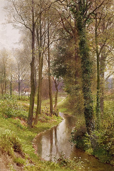 The Mill Stream Print by Henry Sutton Palmer