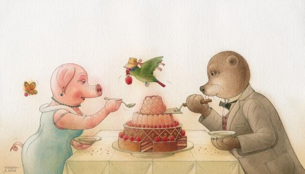 The Missing Picture12 Print by Kestutis Kasparavicius