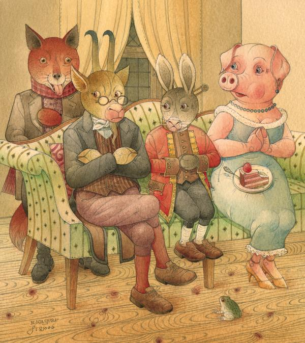The Missing Picture17 Print by Kestutis Kasparavicius