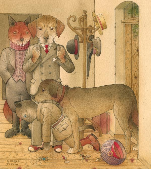 The Missing Picture26 Print by Kestutis Kasparavicius