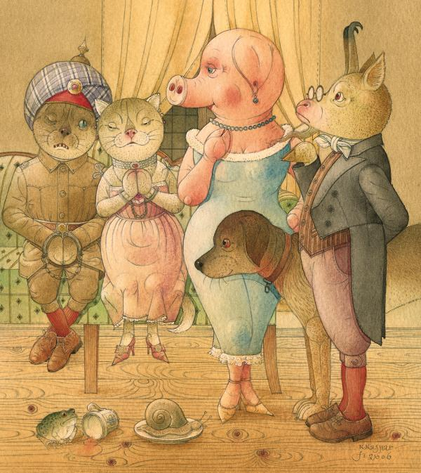 The Missing Picture28 Print by Kestutis Kasparavicius