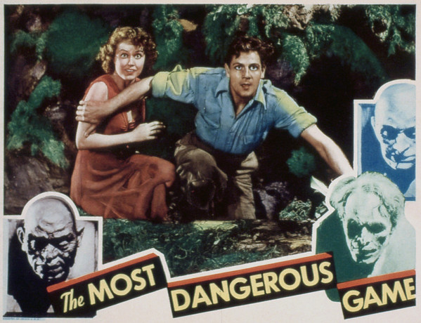 The Most Dangerous Game, Fay Wray, Joel Print by Everett