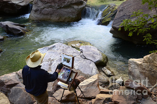 The Narrows Quality Time Print by Bob Christopher
