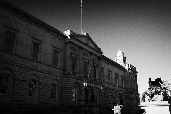 The National Archives Of Scotland General Register House Edinburgh Scotland Uk United Kingdom Print by Joe Fox