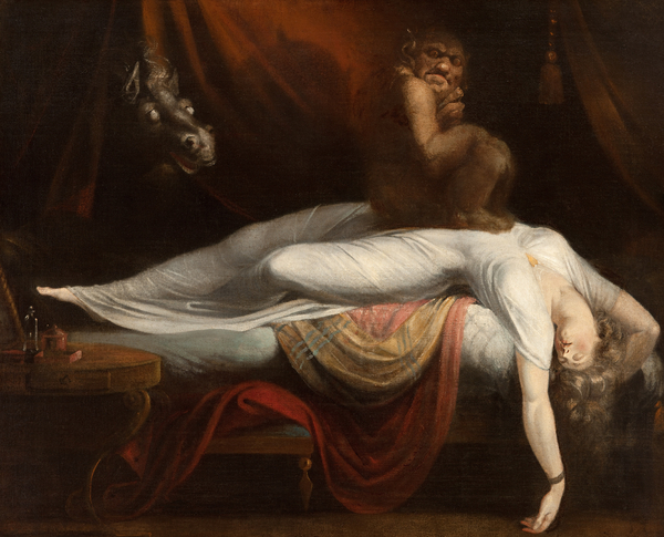 The Nightmare Print by Henry Fuseli