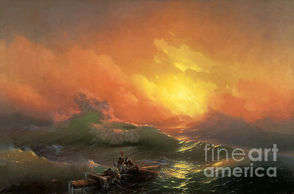 The Ninth Wave Print by Aivazovsky