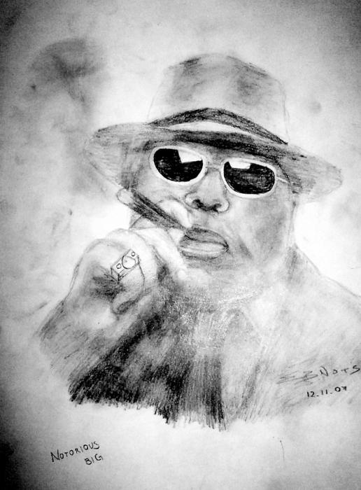 The Notorious Big By Eznots Xidic