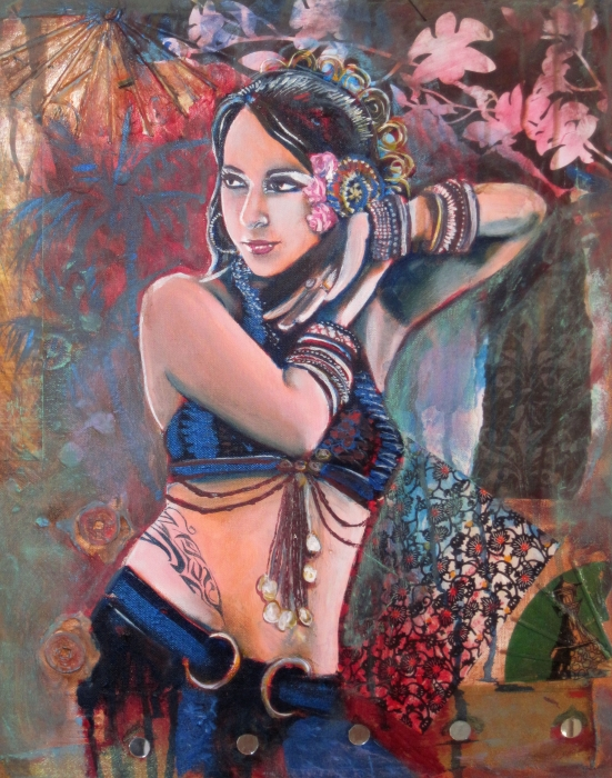 The Nouveau Gypsy Painting