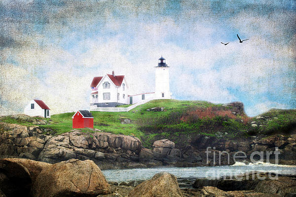 The Nubble Print by Darren Fisher