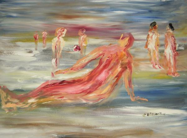 Nude Beach by Edward Wolverton