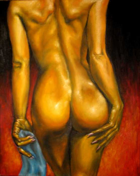 Natalja Picugina - The Nude Beauty original oil painting
