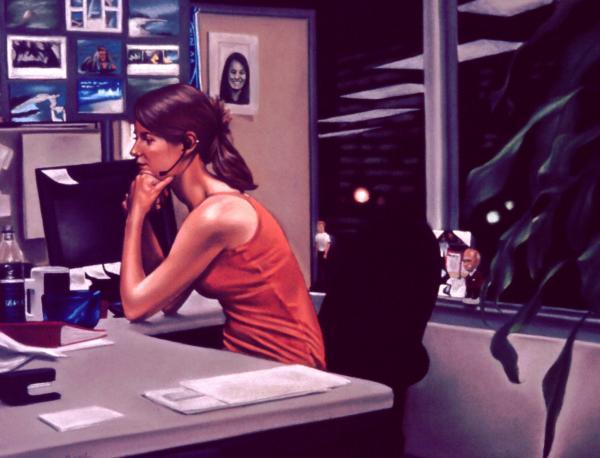 The Office Print by Glenn Bernabe