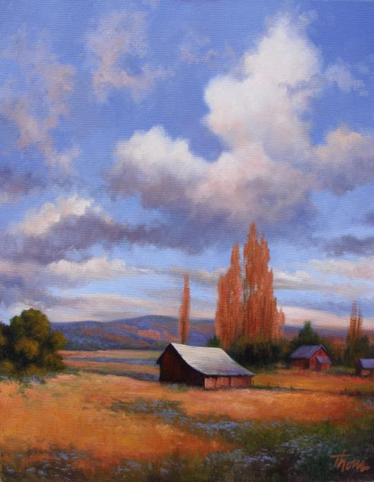 The Old Homeplace Painting  - The Old Homeplace Fine Art Print