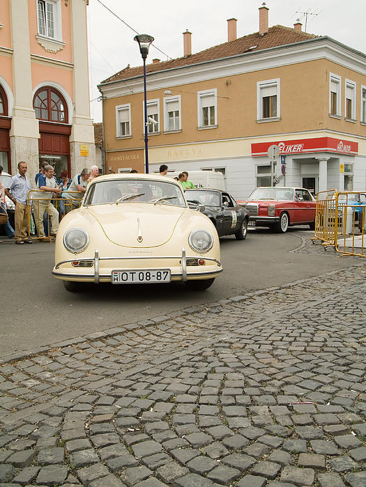 The Old Porshe Print by Odon Czintos