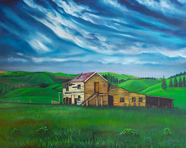 Nicole Ann OConnor - The Old Pukerau Shed NZ