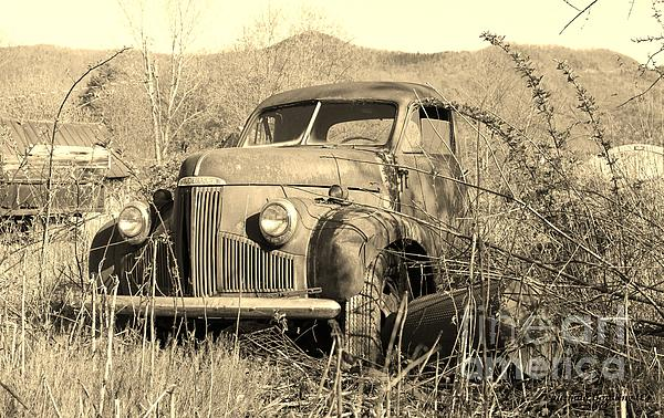 The Ole Studebaker Print by Laurinda Bowling