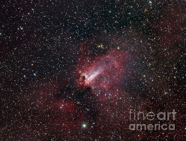 The Omega Nebula Print by Filipe Alves