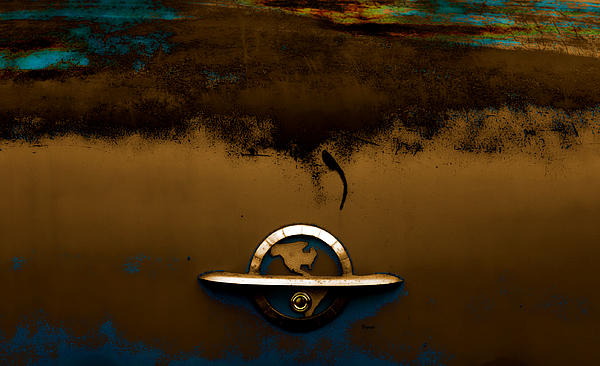The Paint Of Corrosion  Print by Steven  Digman