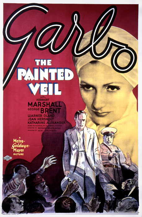 The Painted Veil, Greta Garbo, 1934 Print by Everett