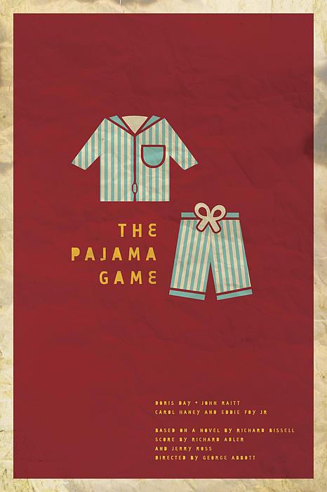 The Pajama Game Print by Megan Romo