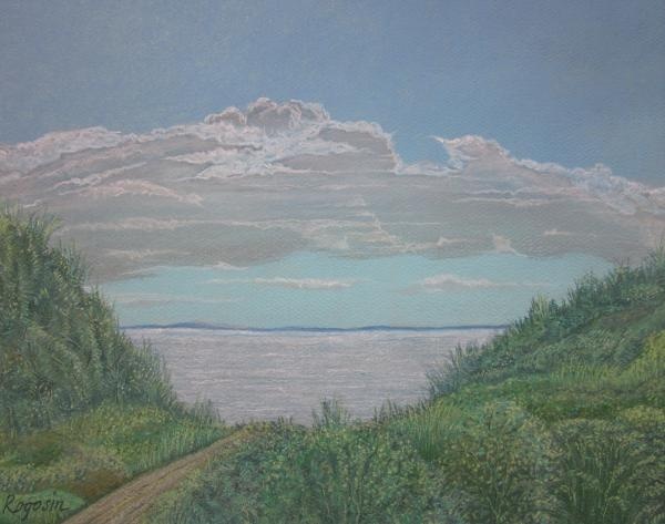 The Path To Ryder Beach Pastel