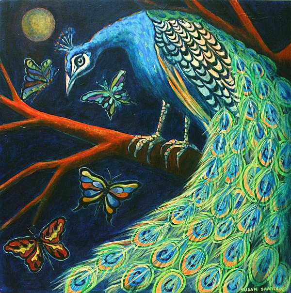 Susan Santiago - The Peacock