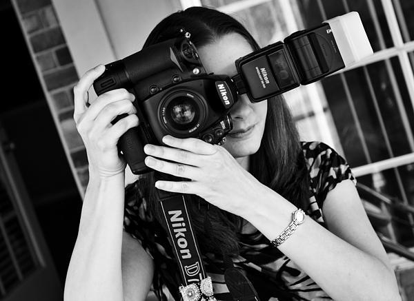 The Photographer Print by Ricky Barnard
