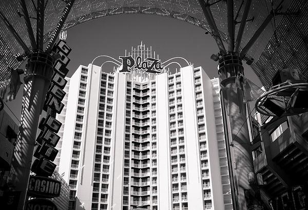 The Plaza Las Vegas  Print by Susan Stone