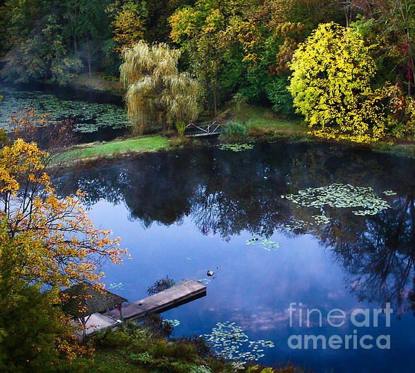 The Pond 2 Print by Kathleen A McDermott