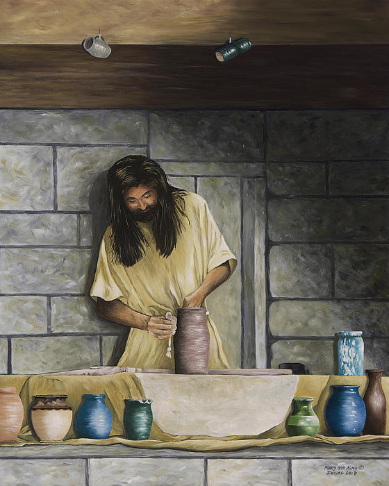 The Potter's House Print by Mary Ann King