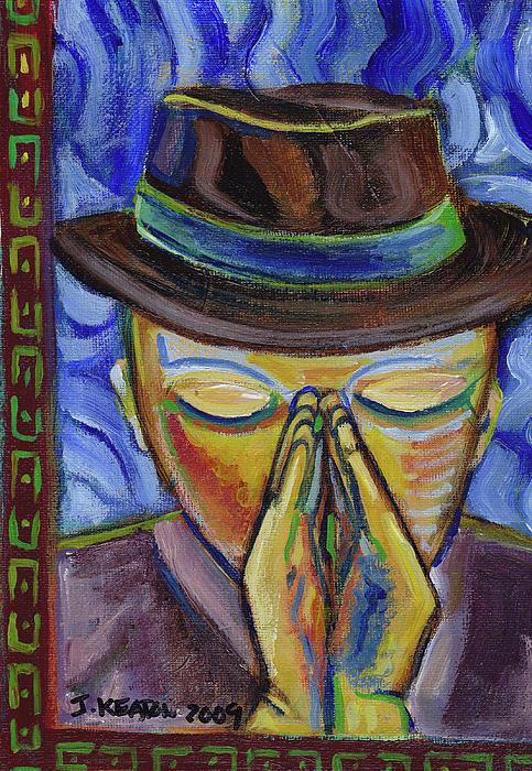 The Prayer Of Josef Beuys Print by John Keaton