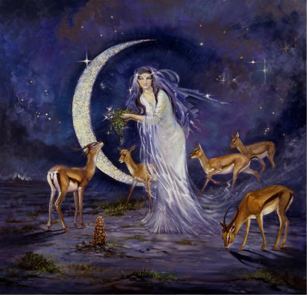 Silvia  Duran - The princess and the Moon