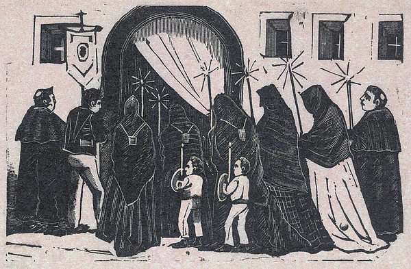 The Procession, By Antonio Vanegas Print by Everett