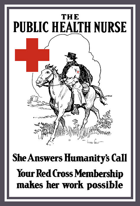 The Public Health Nurse Print by War Is Hell Store