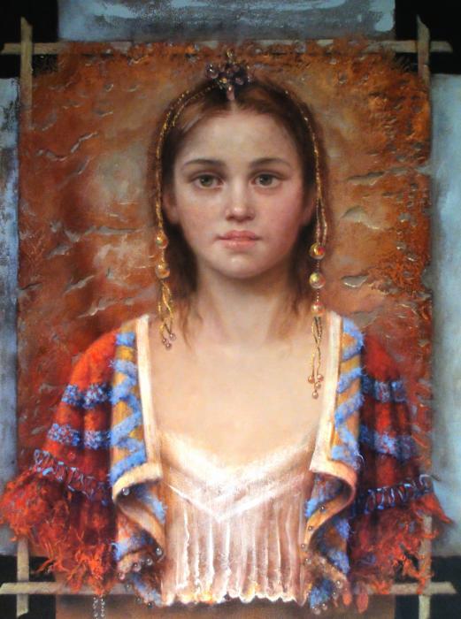 The Quiet Girl Print by Loretta Fasan