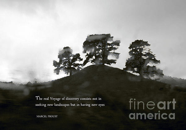 The Real Voyage Of Discovery Print by Karen Lewis