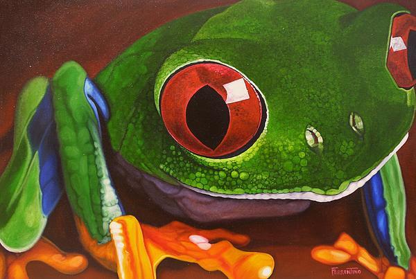 The Red Eye Print by Jon Ferrentino