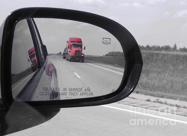 Ausra Paulauskaite - The Red Truck. Mirror reflections.