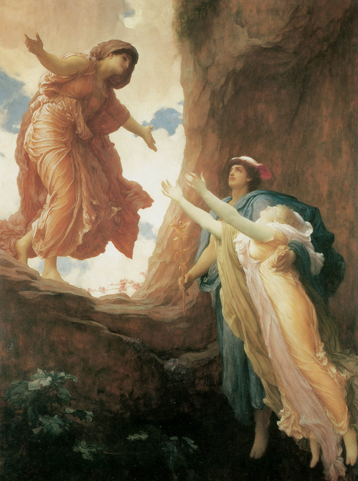 The Return Of Persephone Print by Frederick Leighton