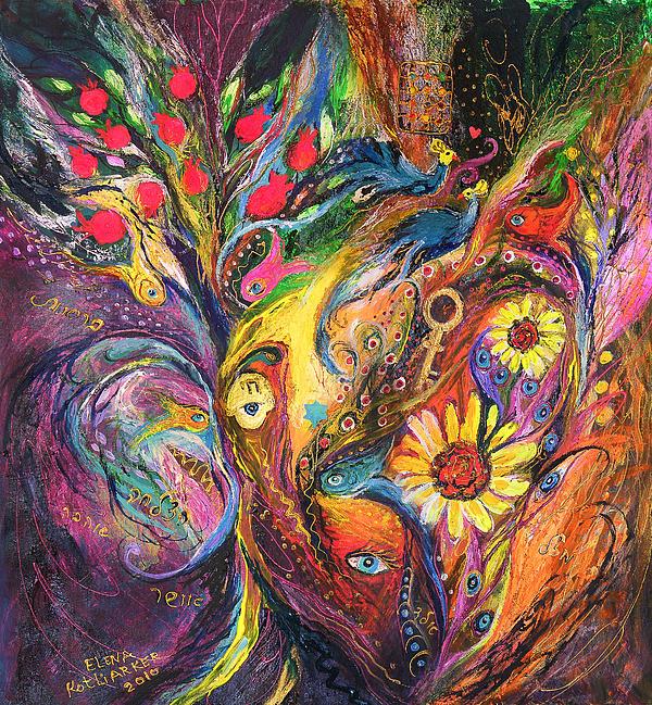 The Rhapsody Of Love Print by Elena Kotliarker
